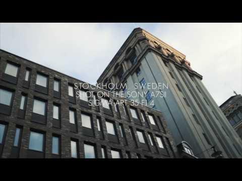 Stockholm, Sweden testshoot [a7sii w/ Sigma art 35mm f1.4]