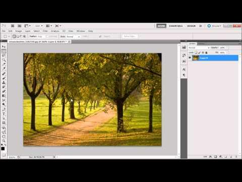 60 Second Photoshop Tutorial : Color Balance Adjustment Layer -HD-