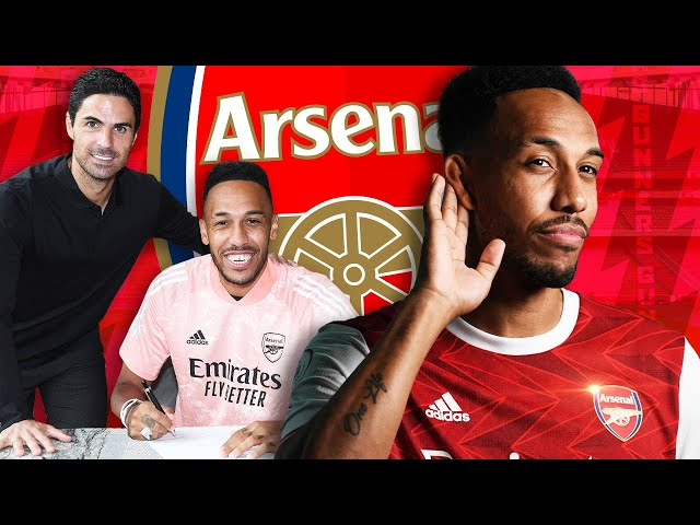 Why Aubameyang Signed A New Contract At Arsenal!