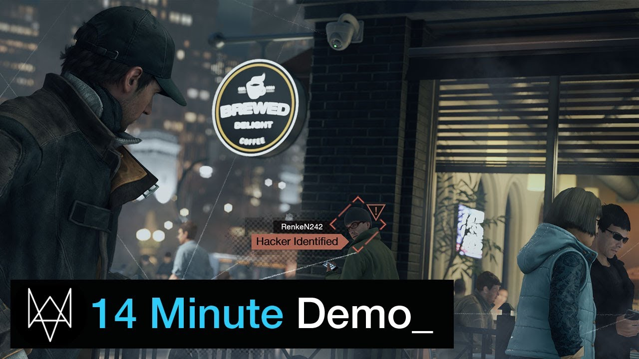 14 minutes of Watch Dogs open world gameplay