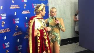 А.Волочкова и Н.Басков, Золотой Граммофон 2012