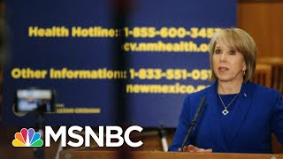 What Other States Can Learn From New Mexico's Coronavirus Response | The 11th Hour | MSNBC New Mexico Gov. Michelle Lujan Grisham explains why, despite the low number of confirmed coronavirus cases in her states, she's taking aggressive action ..., From YouTubeVideos