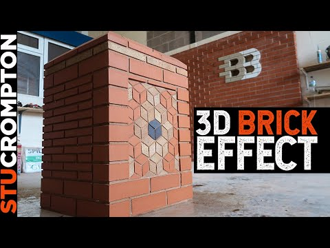 3D Bricklaying Effect