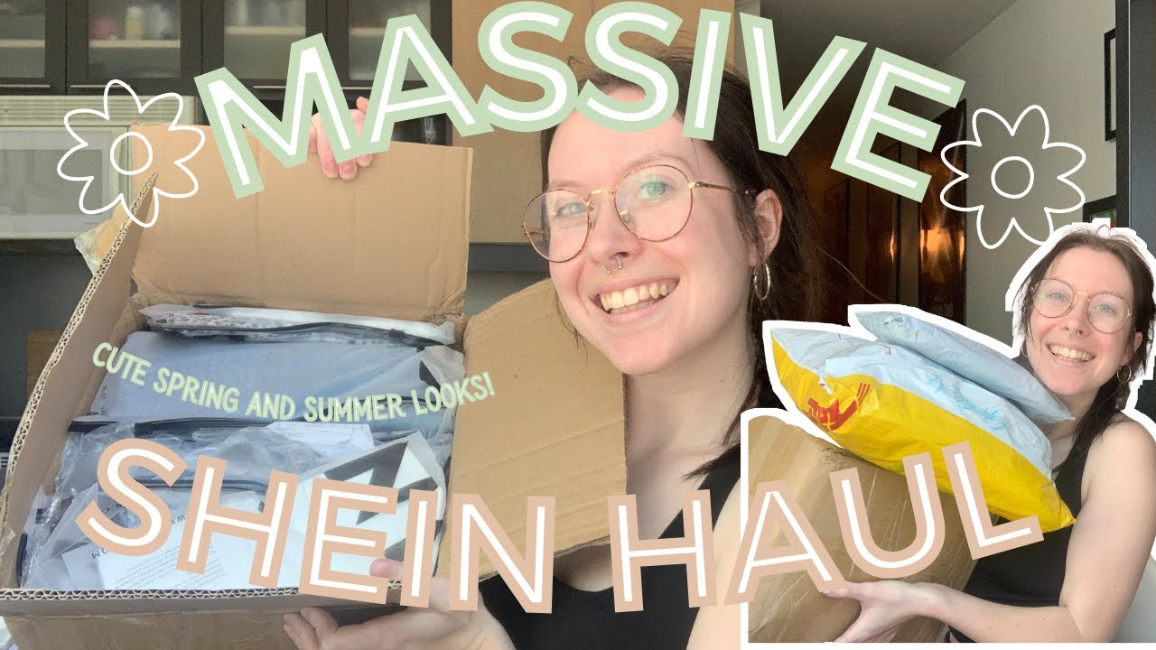 MASSIVE Shein TRY ON Haul! / Cute & Trendy Summer Looks/ #clothinghaul #springoutfits #sheinhaul