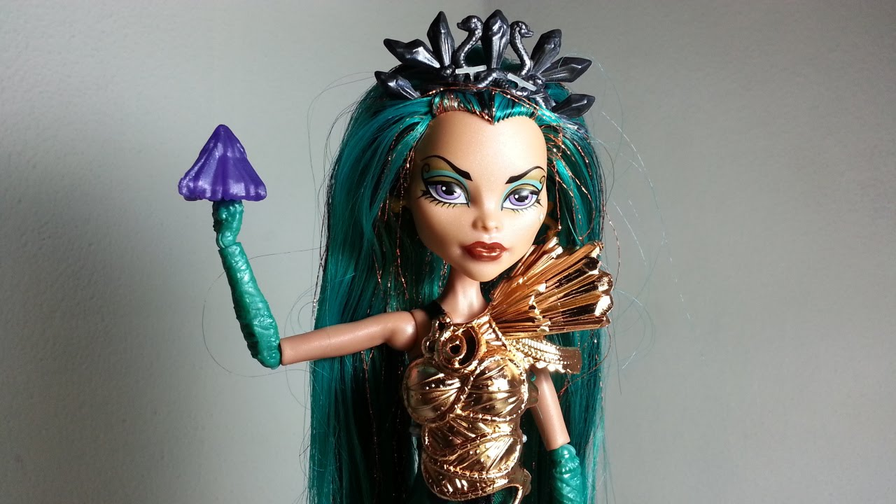 Review monster high nefera de nile boo york boo york youtube - Nefera de nile ...