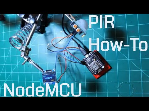 Connect PIR sensor to NodeMCU using Direct 3.3V for better operation