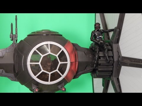Star Wars Black Series TIE Fighter 6-Inch Scale Review The Force Awakens