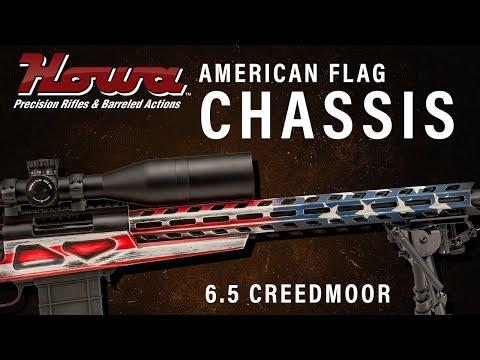 HOWA AMERICAN FLAG CHASSIS RIFLE- HOWA APC 6 5 CREEDMOOR