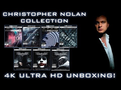 CHRISTOPHER NOLAN COLLECTION (ALL 7 MOVIES) - 4K ULTRA HD UNBOXING!