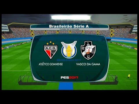 Atlético-GO x Vasco da Gama ↱[ Brasileirão Série A ]↰ PES 2017 BMPES