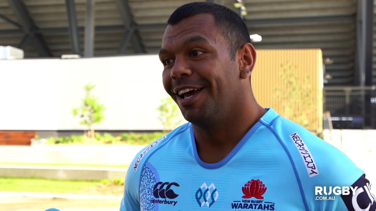80d7c8509c7 Beale brimming to wear Waratahs indigenous jersey - YouTube