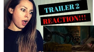 JURASSIC WORLD: FALLEN KINGDOM (2018) TRAILER 2 REACTION!!