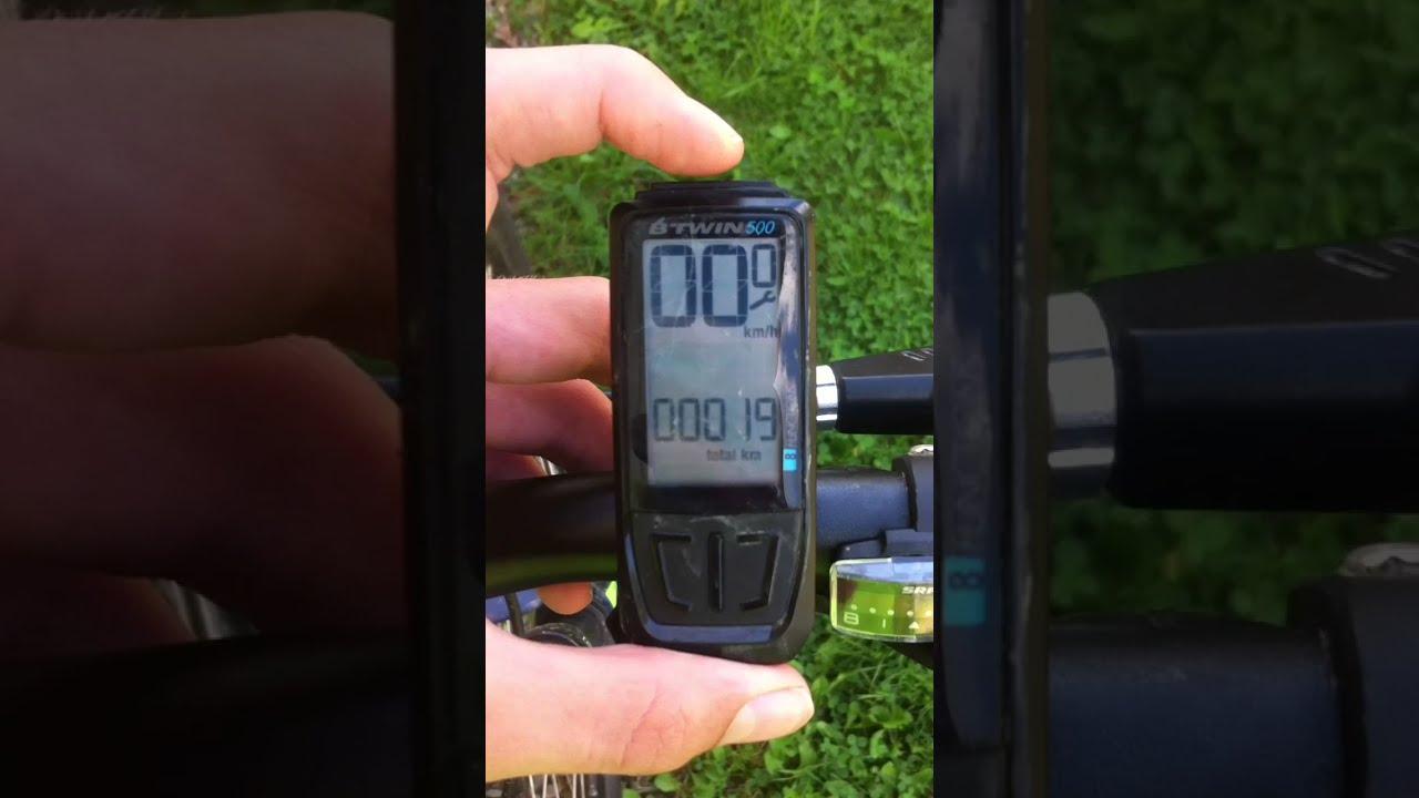 Echowell U13W Sans Fil 13 Fonction Vélo Bicyclette Ordinateur Noir