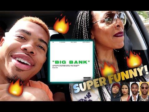 MOM REACTS TO YG - BIG BANK (FEAT. 2 CHAINZ, BIG SEAN & NICKI MINAJ) | HILARIOUS!!