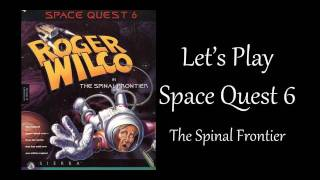 Let's Play Space Quest 6 - part 1 - Court martial
