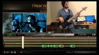 Repeat youtube video BandFuse Bass - Tears Don't Fall (1st Try: 94% REAL Difficulty)