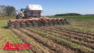 Kuhn Zone Tillage, Strip-till demo with dry fertilizer