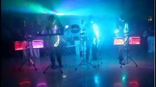 Шоу Барабанщиков Zanozzza. God God in Surgut(Шоу барабанщиков Zanozzza., 2012-12-24T19:19:28.000Z)