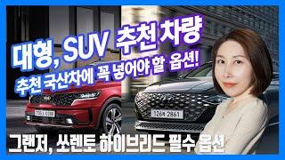 [Episode 2] 차급별 추천 국산 차량 준대형차,…