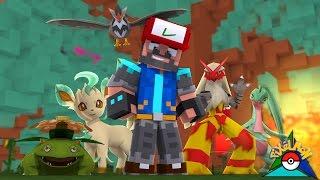 FOREST BADGE!!!! [#15] | Minecraft: Pokémon Trinity [Pixelmon]