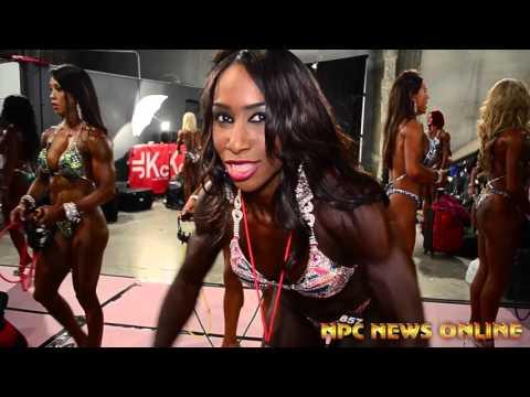 2015 NPC Nationals Women's Physique/Figure Pump Up Room