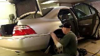 2004 Acura RL Rust Repair part 1