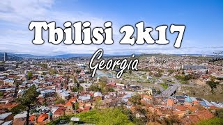 Tbilisi Georgia Travel VLOG 2K17 (4K Video)