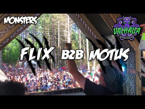 FLIX B2B MOTUS @ Valhalla Sound Circus 2019 | MONSTERS RIDDIM