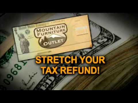 Mountain Furniture Outlet   Tax Time