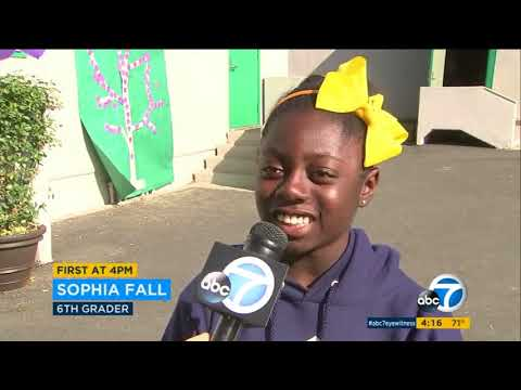 No One Eats Alone Day at New Middle School Pathway | LAUSD | CA