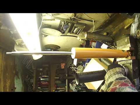 Замена задних пружин и амортизаторов Citroen C4