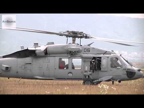 US Navy MH-60S Knighthawk Helicopters