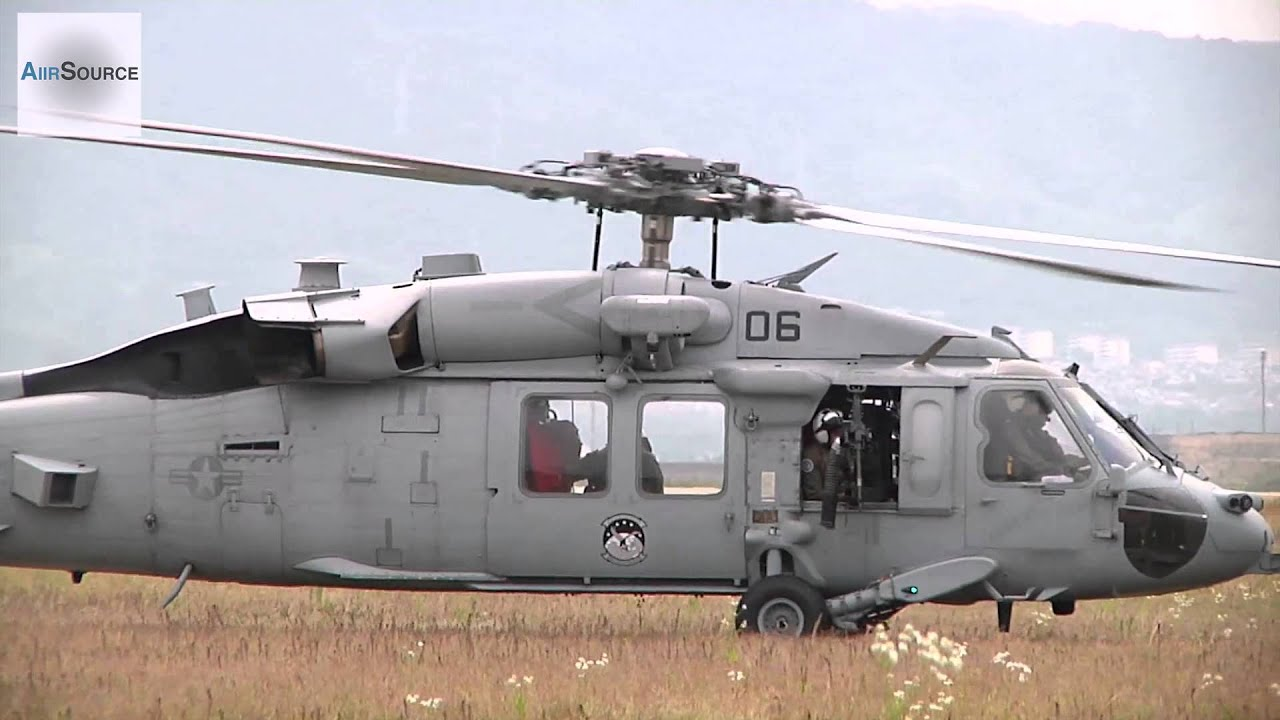 Us Navy Mh 60s Knighthawk Helicopters Youtube