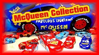 My Lightning McQueen Collection from Cars Cars 2 Cars 3 and Possibly Cars 4 Car