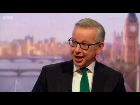 Environment Secretary Michael Gove's Interview on BBC's The Andrew Marr Show