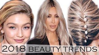 2018 Makeup Trends: Long Hair, Bright Eyes & More!