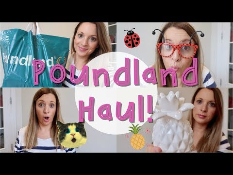 Poundland Haul | Autumn 2017 | Amy being Mum
