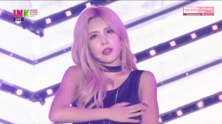 T-ARA (티아라) - What's My Name? + Roly Poly + Lovey Dovey @ INK 2017 Incheon K-Pop Concert