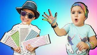 Super Celina and Hasouna Decoration  - سوبر سيلينا وحسونة تزيين للاطفال