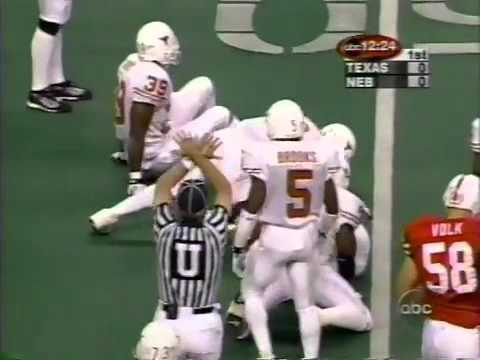 1999 Dec 04 - Big 12 CCG - Texas vs Nebraska