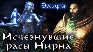 Исчезнувшие расы Нирна - ЭЛЬФЫ   TES Лор