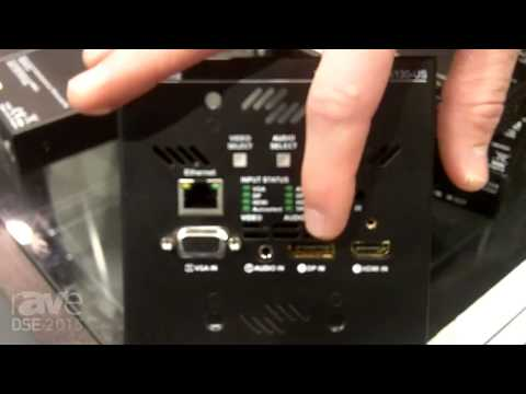 DSE 2015: Lightware USA Showcases MX Series Product Line, Such as HDBaseT Wall Plate Transmitter