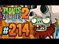 Plants vs. Zombies 2: It's About Time - 214 - Jurassic Marsh: Primal Power