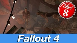 DIAMOND CITY STEALING!!! Fallout 4 Gameplay Part 8 (HD 1080p, 60FPS, PS4)