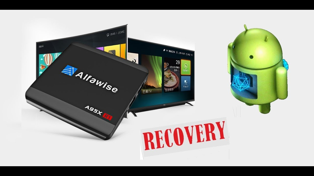 Recovery, Recuperar TV BOX A95X R1 Alfawise