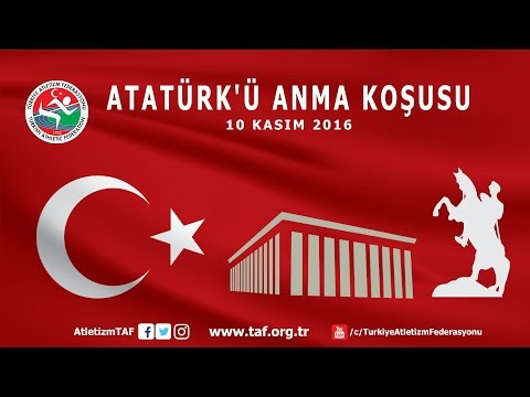 10 Kasım Atatürk'ü Anma Koşusu