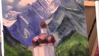 Храм в горах 170 Видео урок .Игорь Сахаров