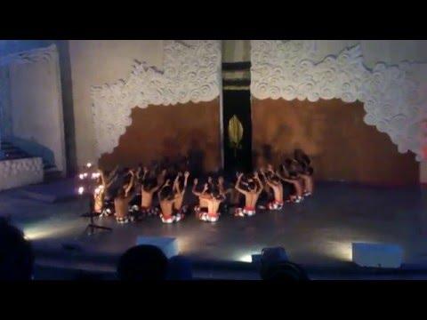 Tari Kecak Garuda Wisnu Kencana, Bali - Indonesia traditional dance