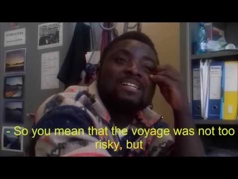 Interview to Isaac from Ghana - IPSSIA Odero di Genova - subtitled in english