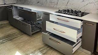 Modular kitchen Design wood work Complete Price Kitchen Ideas Organization With Details